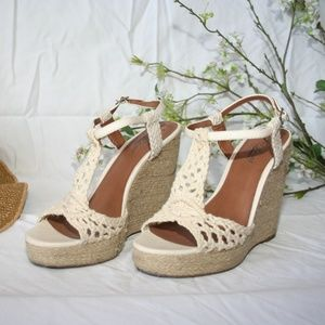 Lucky Brand Reylin Natural Wedges